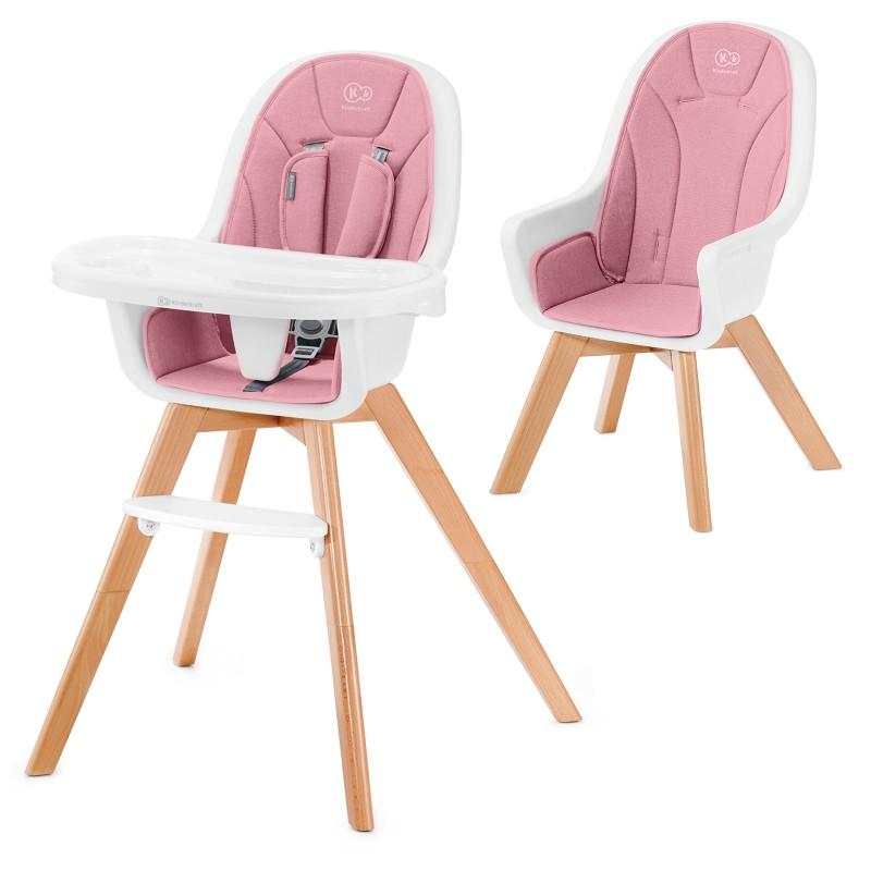 Столче за хранене KinderKraft TIXI, Розово