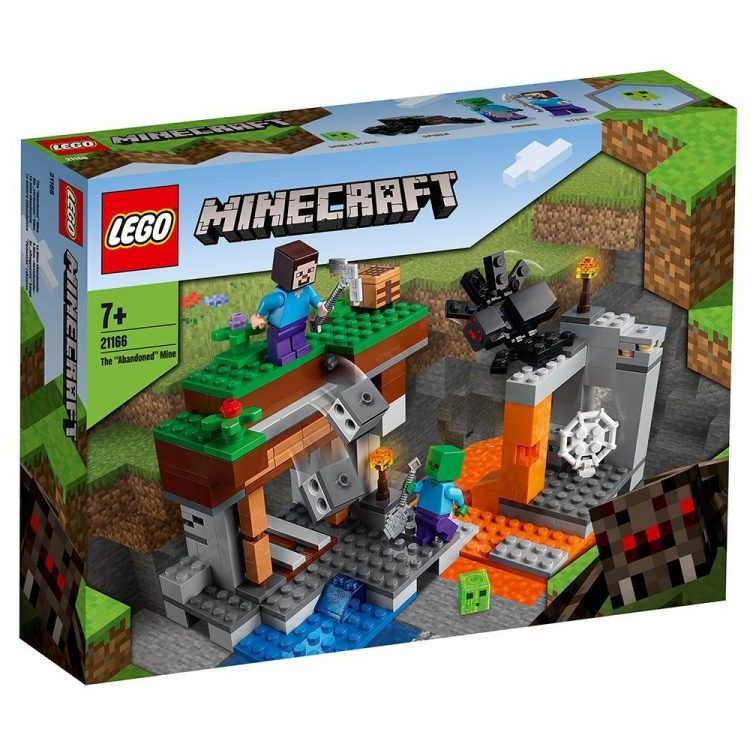 LEGO® Minecraft™ 21166 – Изоставената мина