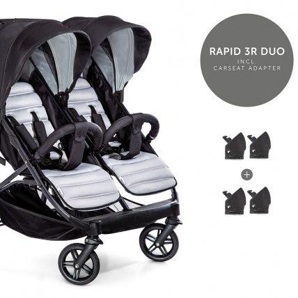 Бебешка количка за близнаци Hauck Rapid 3 R Duo