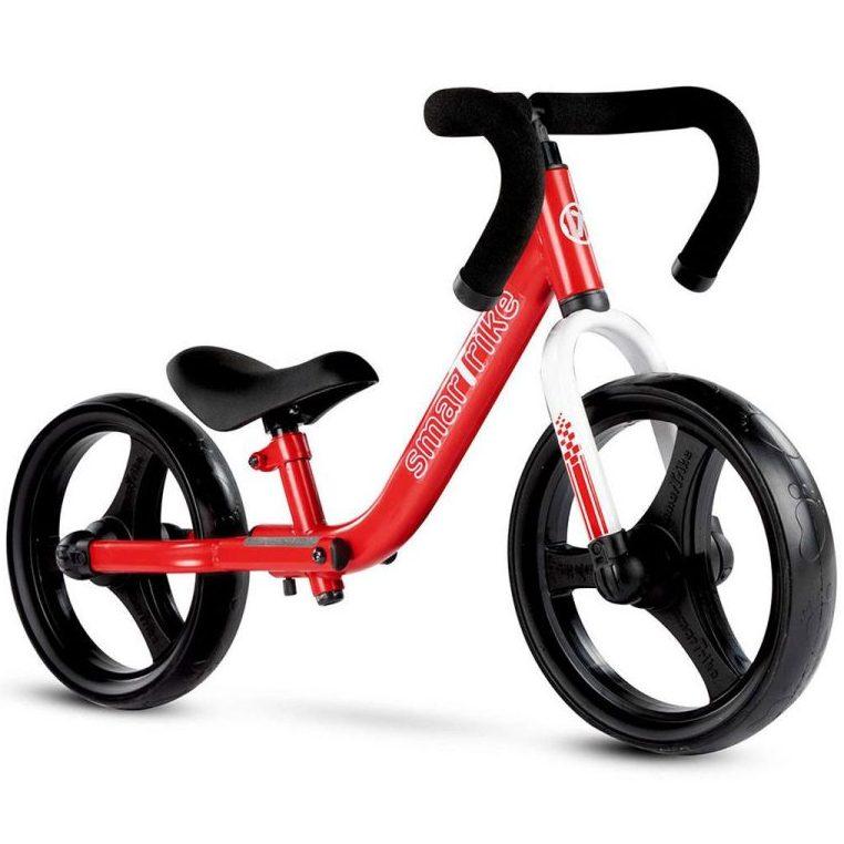 Сгъваемо балансиращо колело smarTrike, червено