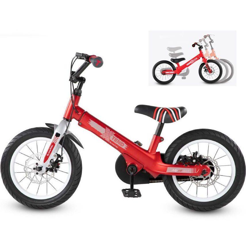 Разтегаем Велосипед smarTrike Xtend Mg+™ 3-в-1 – червен