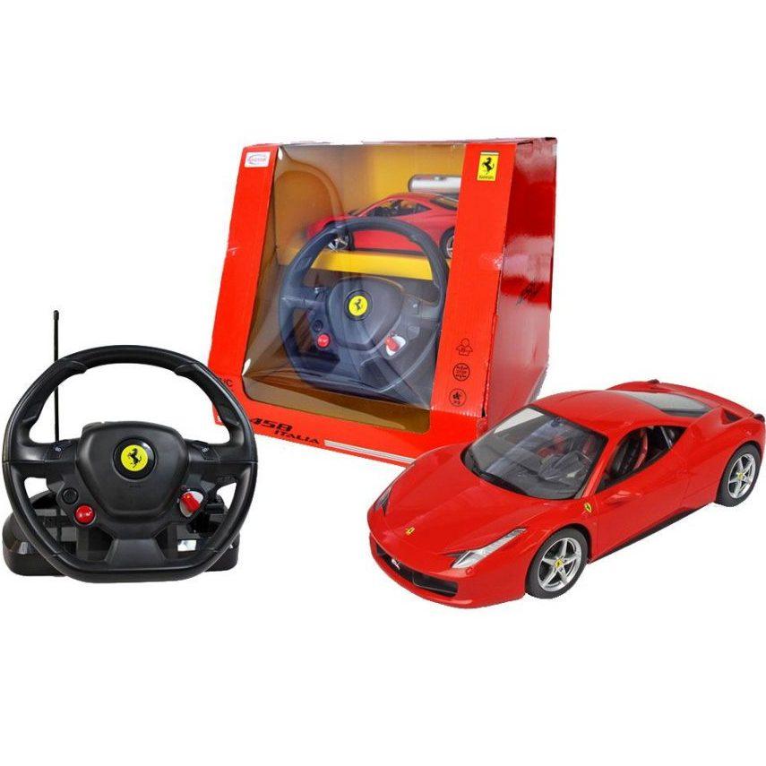 RASTAR Кола с волан контролер FERRARI 458 ITALIA 47300-8 114