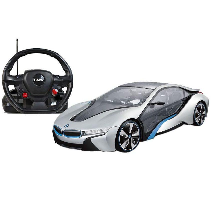 RASTAR Кола с волан контролер BMW I8 49600-8 114