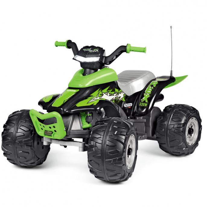 PEG PEREGO АКУМУЛАТОРНО ATV CORRAL T-REX 330W, 12V