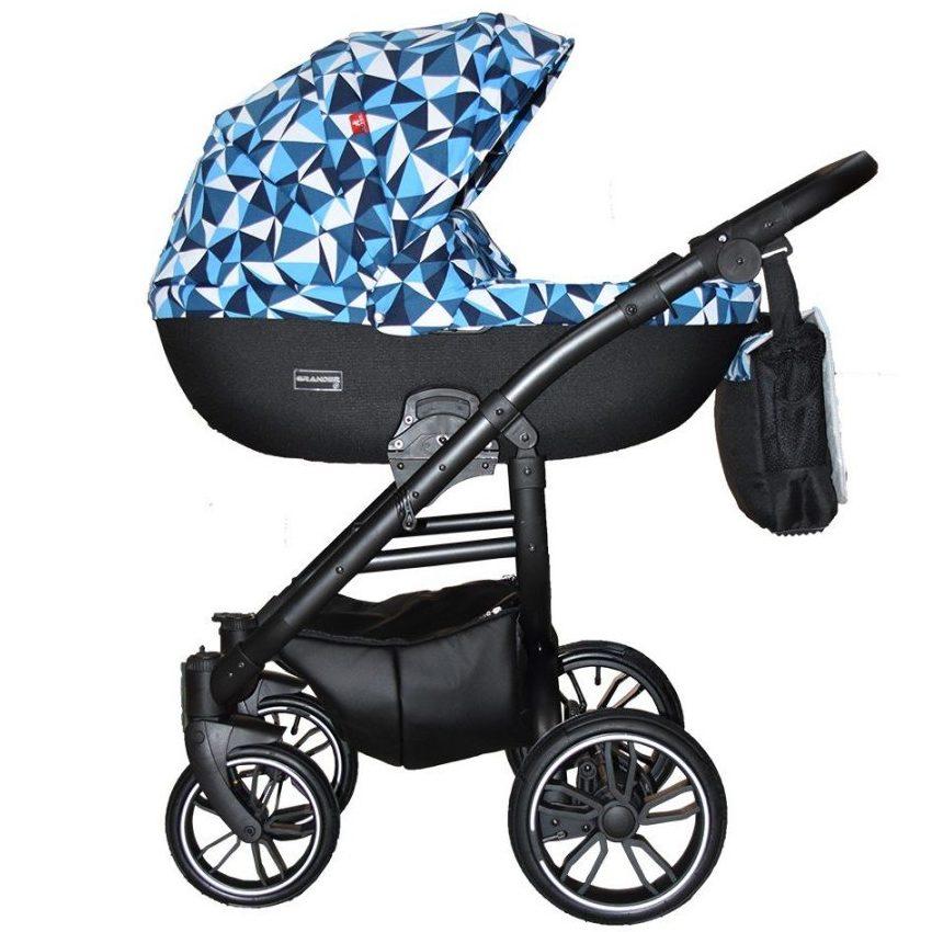 Бебешка количка Tutek GRANDER Play 3в1 G6 PROTET