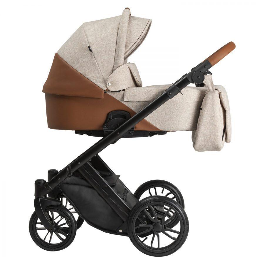 Бебешка количка Tutek DIAMOS 3в1 Eco 2 Beige