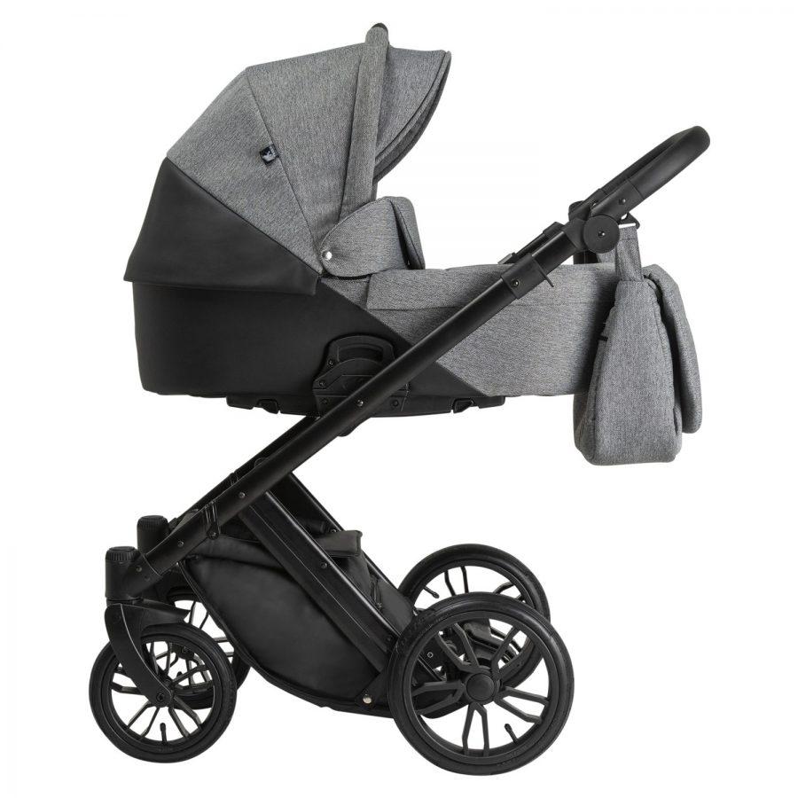 Бебешка количка Tutek DIAMOS 3в1 Eco 3 Black