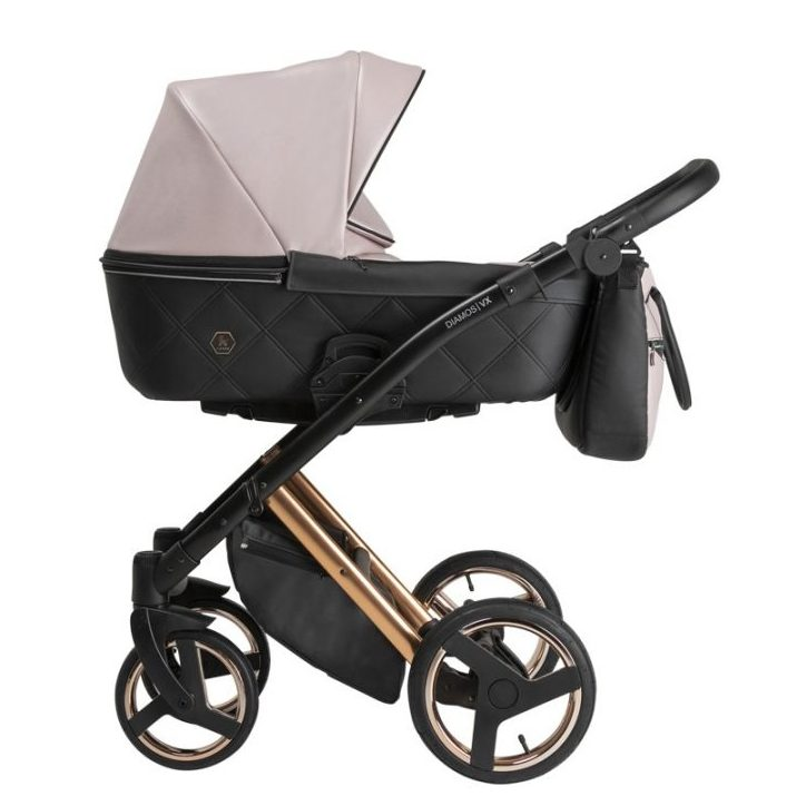 Бебешка количка Tutek DIAMOS   VX 3в1 Rose/Gold DVXECO7