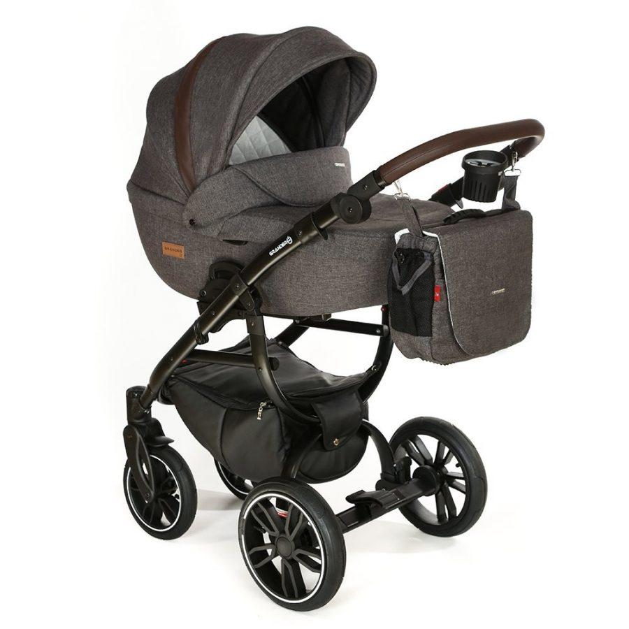 Бебешка количка Tutek GRANDER Play 3в1 G2