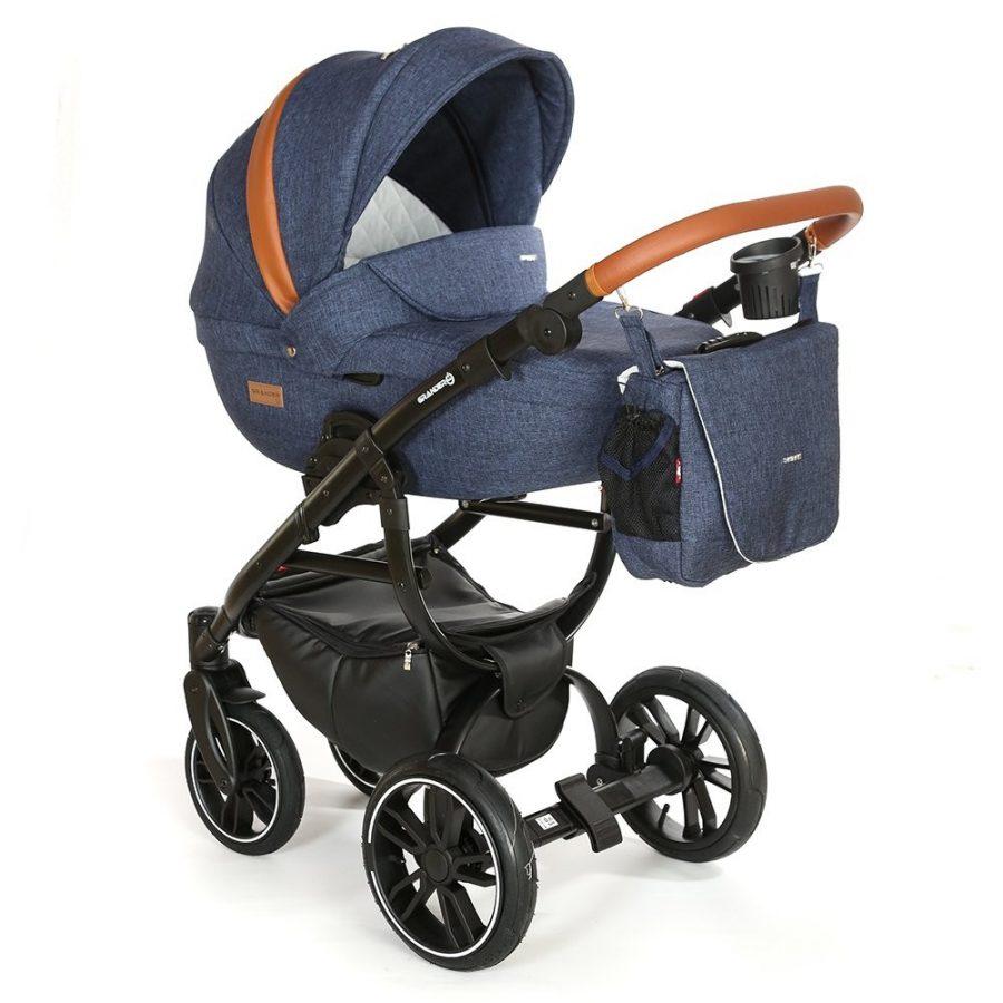 Бебешка количка Tutek GRANDER Play 3в1 G3