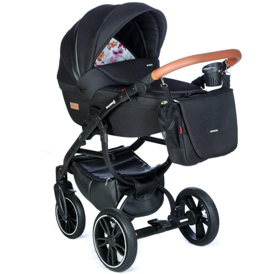 Бебешка количка Tutek GRANDER Play 3в1 G4 MOTYL