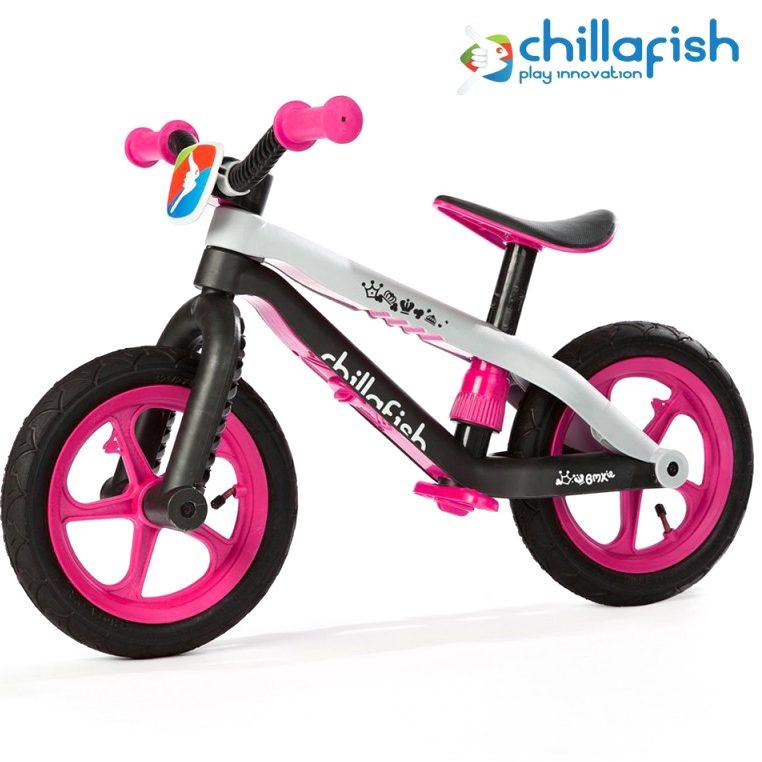 Колело за балансиране Chillafish BMXie, Розово