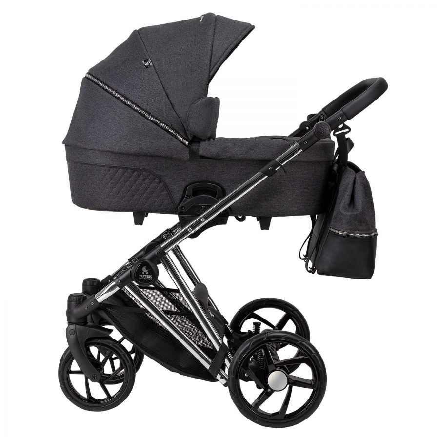 Бебешка количка Tutek DIAMOS PRO 3в1 DPRO2 Grey