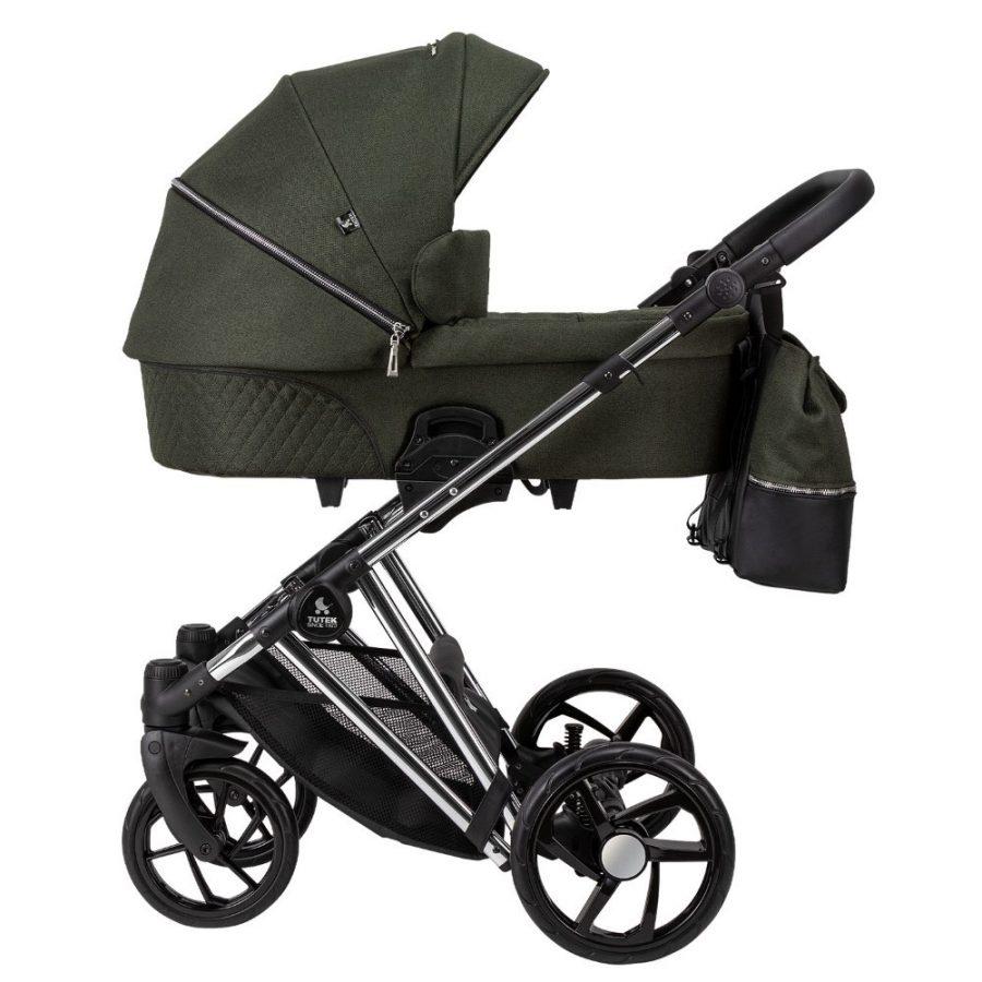 Бебешка количка Tutek DIAMOS PRO 3в1 DPRO4 Green