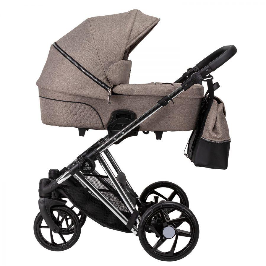 Бебешка количка Tutek DIAMOS PRO 3в1 DPRO5 Beige