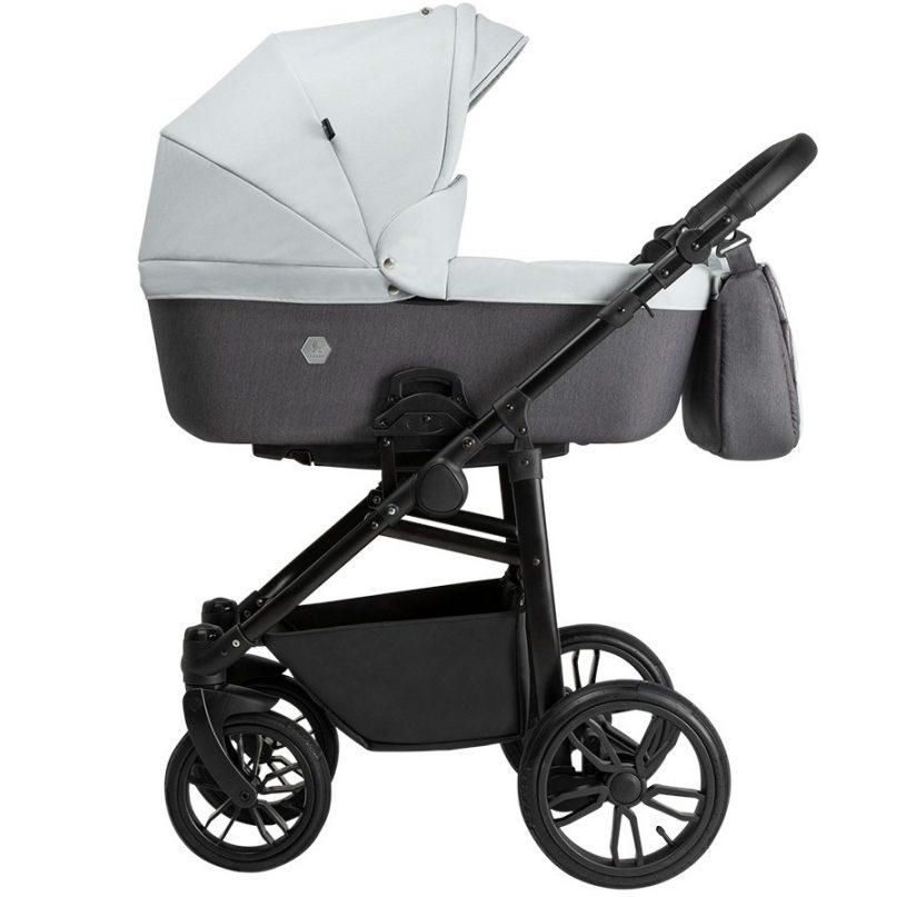 Бебешка количка Tutek XPERO 3в1 XP1 Grey