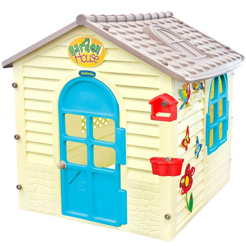 Малка къща с дъска за рисуване 12239