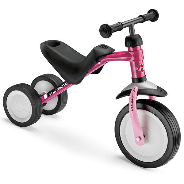 Велосипед с 3 колела PUKYMOTO – малина