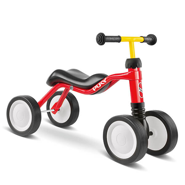 Велосипед с 4 колела PUKY Wutsch – червен