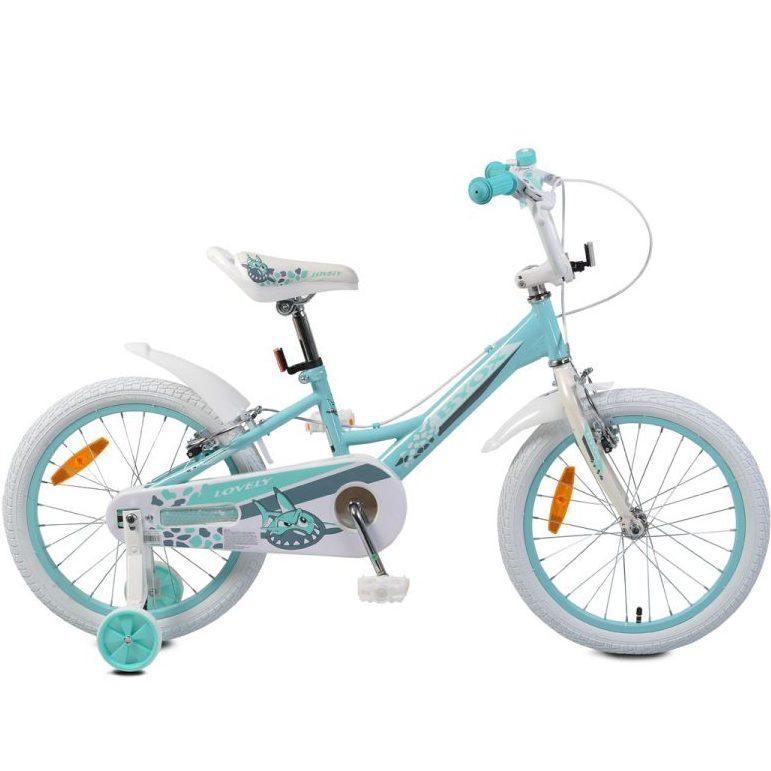 Детски велосипед 18″ Lovely тюркоаз