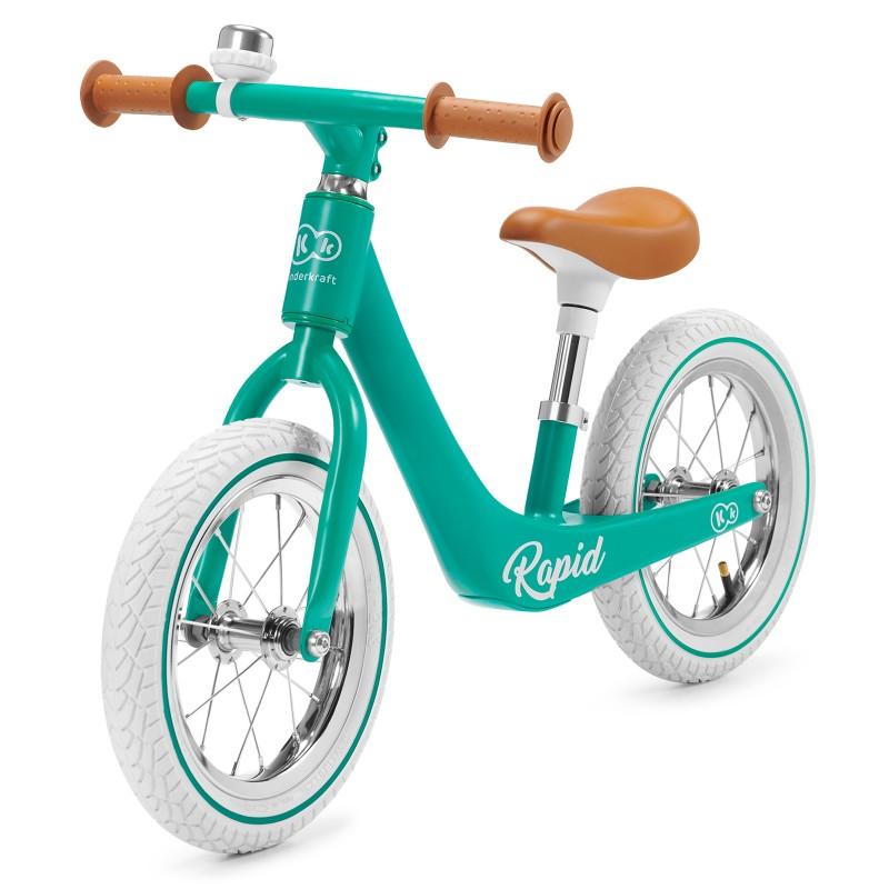Колело за балансиране KinderKraft Rapid, Зелено