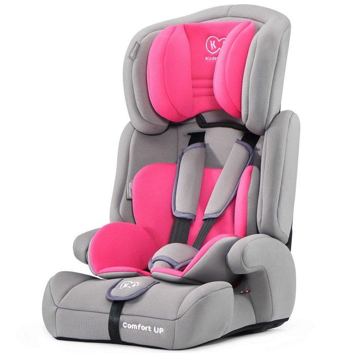 Столче за кола KinderKraft Comfort UP, 9-36 кг, Розово