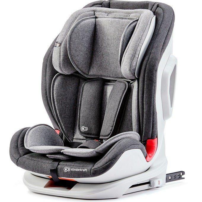 Столче за кола KinderKraft Oneto3, Сиво/Черно
