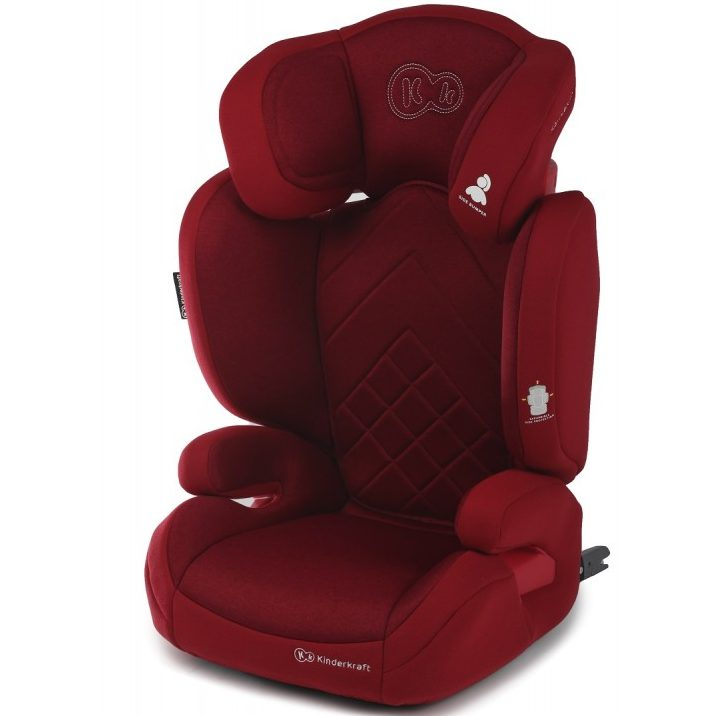 Столче за кола KinderKraft Xpand 15-36 кг, Isofix, Червено