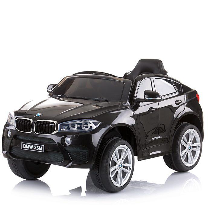Chipolino Aкумулаторен джип BMW X6 Черен