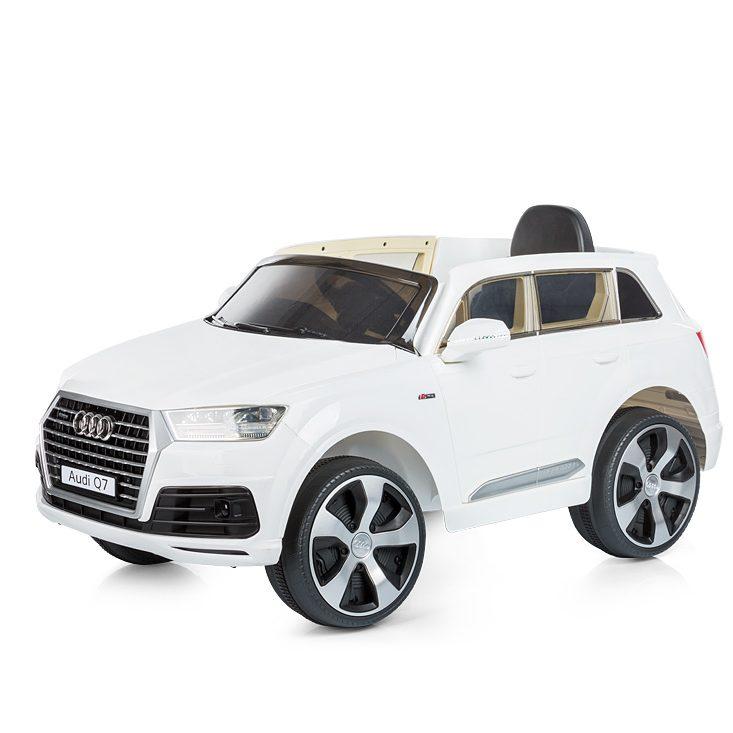 Chipolino Aкумулаторен джип Audi Q7 Бял