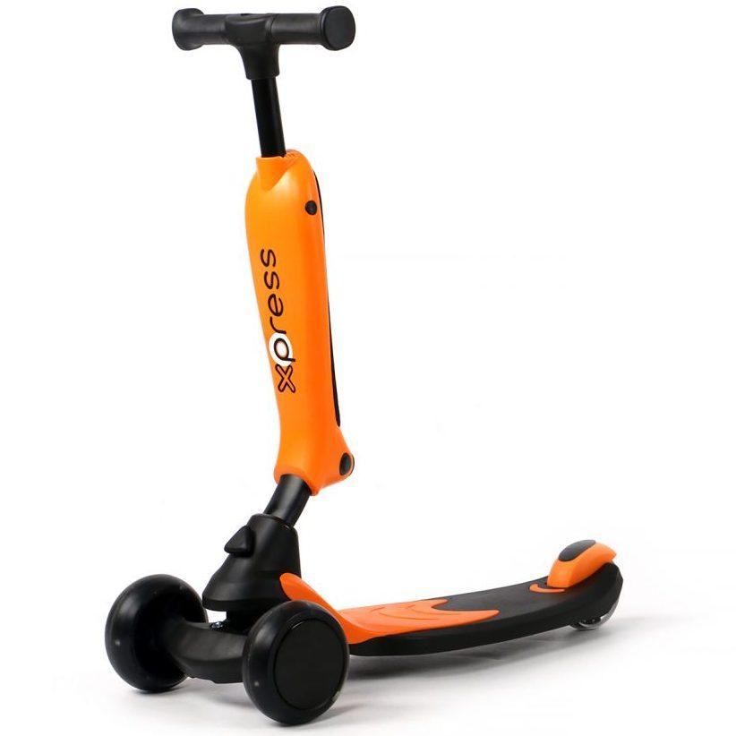 Скутер 2в1 x-press оранжев