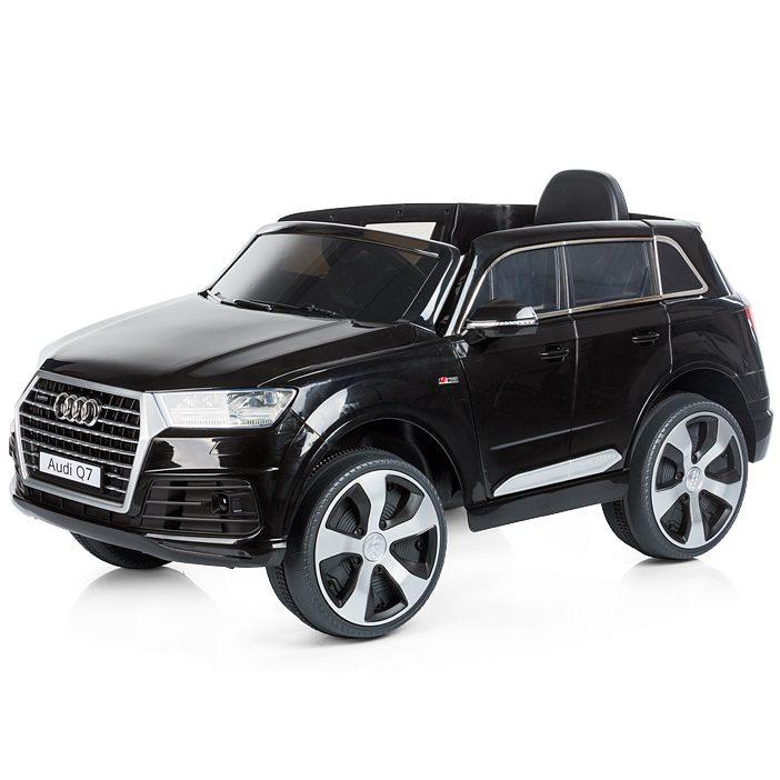 Chipolino Aкумулаторен джип Audi Q7 Черен