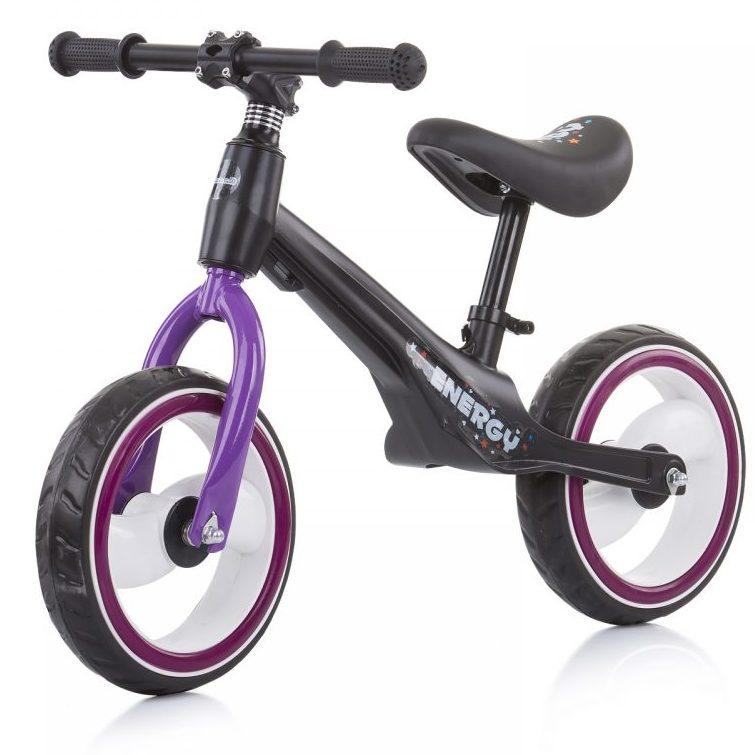 Музикално колело за баланс Energy Лилаво