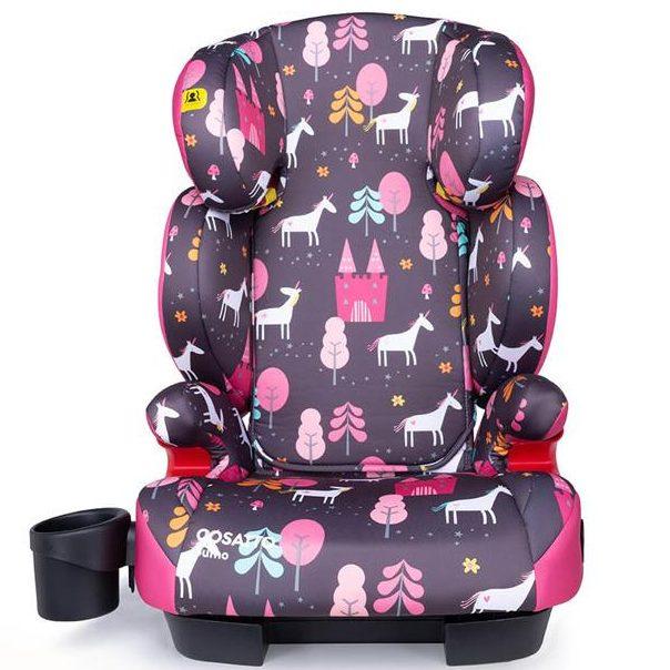 Столче за кола Cosatto Sumo, IsoFit, Unicorn Land 15-36 кг.