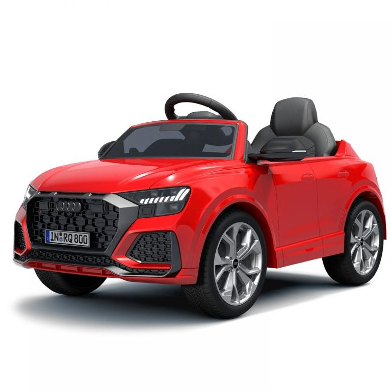 Chipolino Aкумулаторна кола Audi RS Q8, Червена