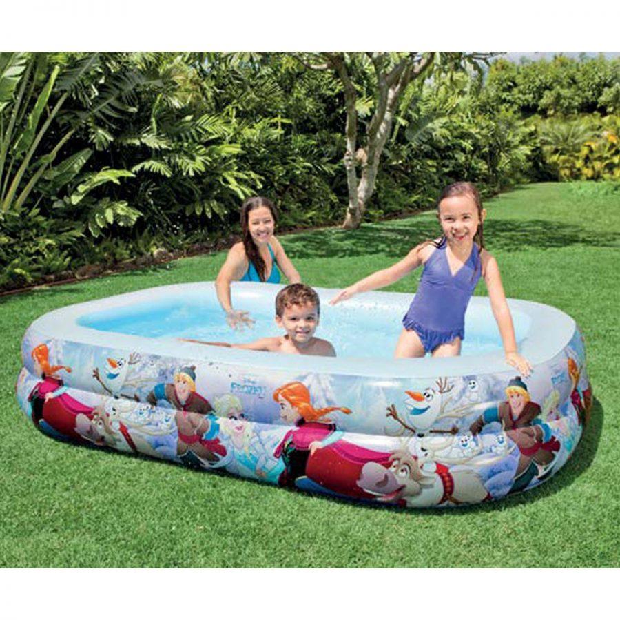 Детски надуваем басейн Замръзналото кралство INTEX FROZEN