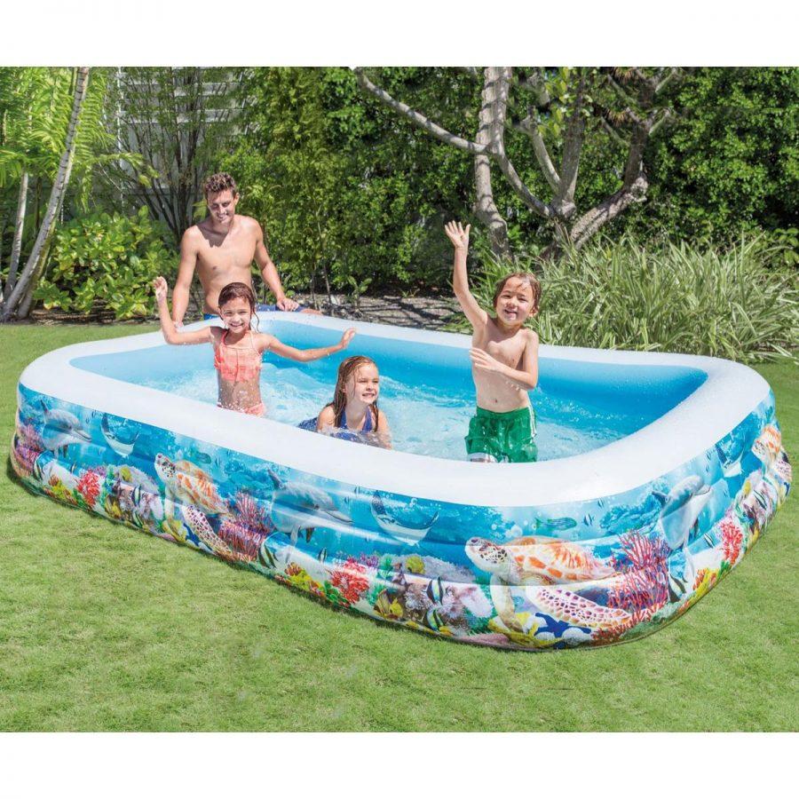 Семеен надуваем басейн Риф INTEX Tropical Reef Family