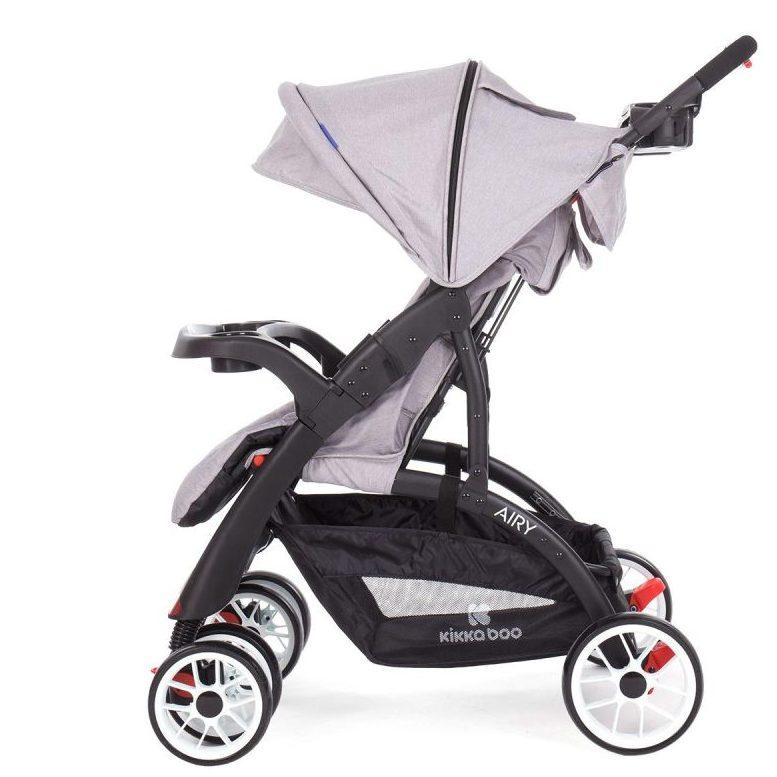 Бебешка лятна количка Kikka Boo Airy Light Grey