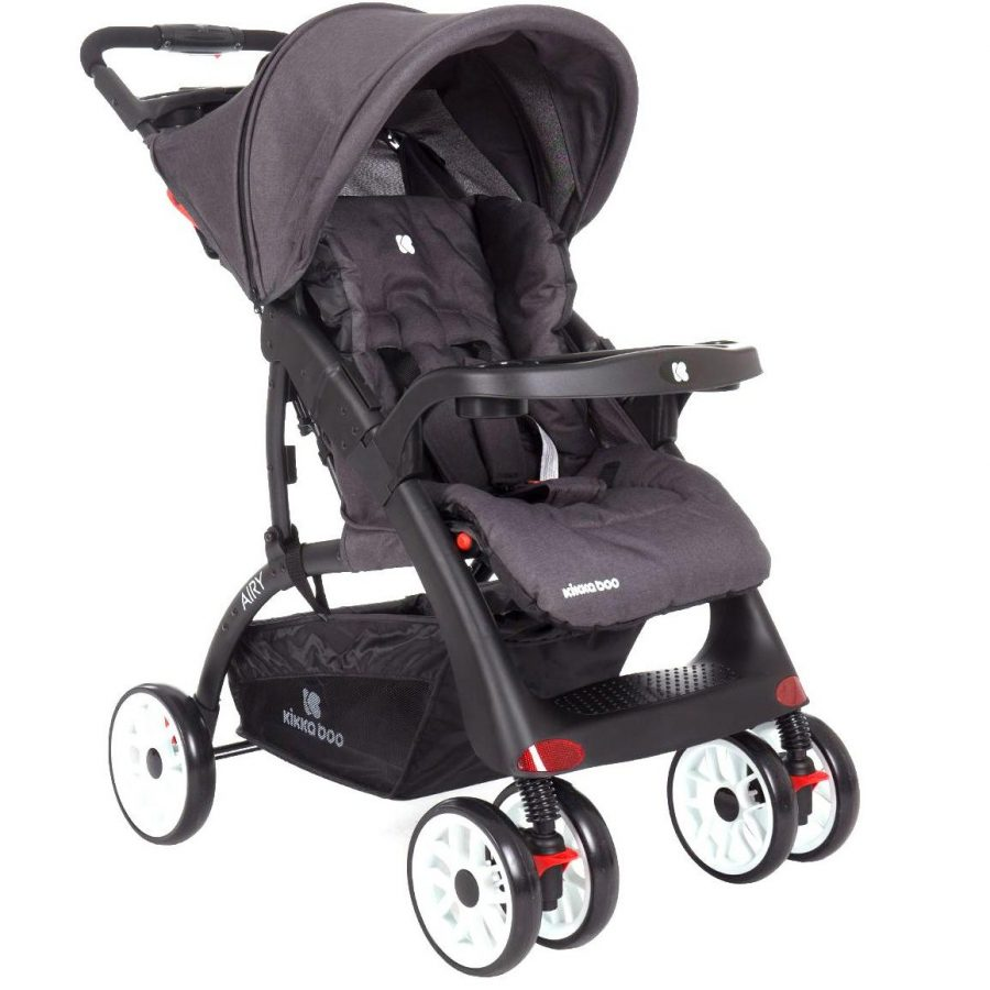 Бебешка лятна количка Kikka Boo Airy Dark Grey