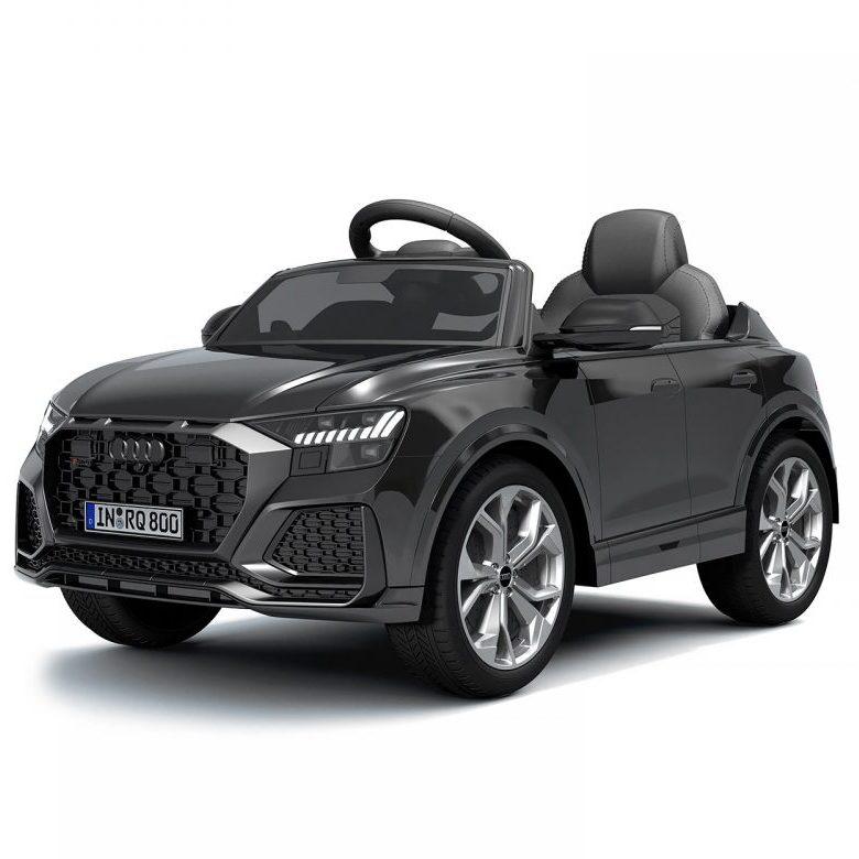 Chipolino Aкумулаторна кола Audi RS Q8, Черна