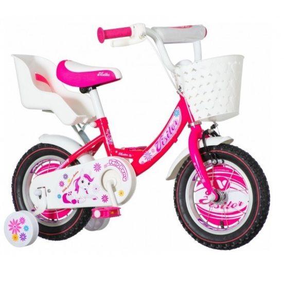 Детски велосипед Dalmatian x-kids 12″, розов