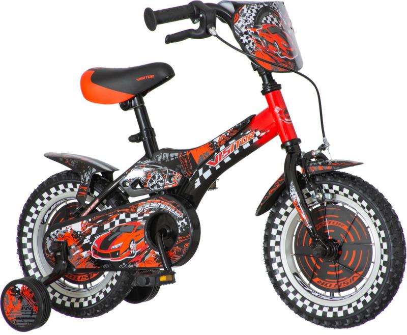 Детски велосипед Nitro 12″, червен