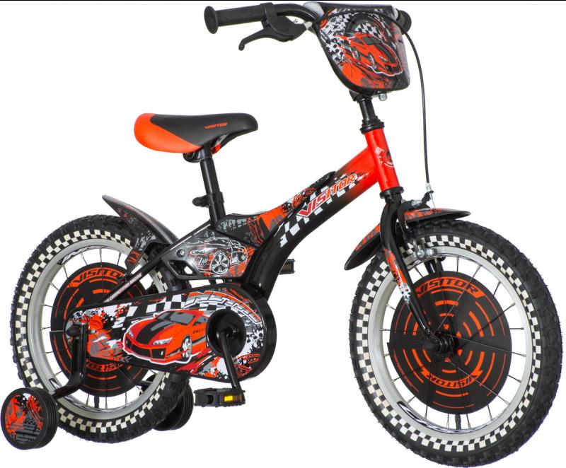 Детски велосипед Nitro 16″, червен