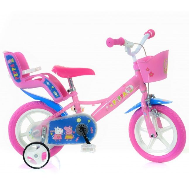 Детски велосипед Peppa Pig 12″ Dino Bikes