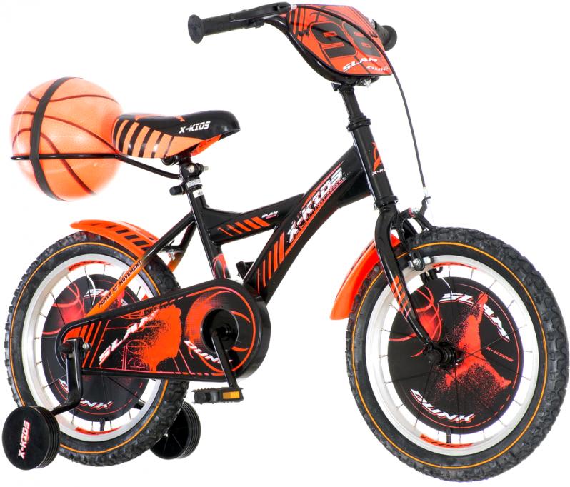 Детски велосипед Visitor basket 16″ , черен