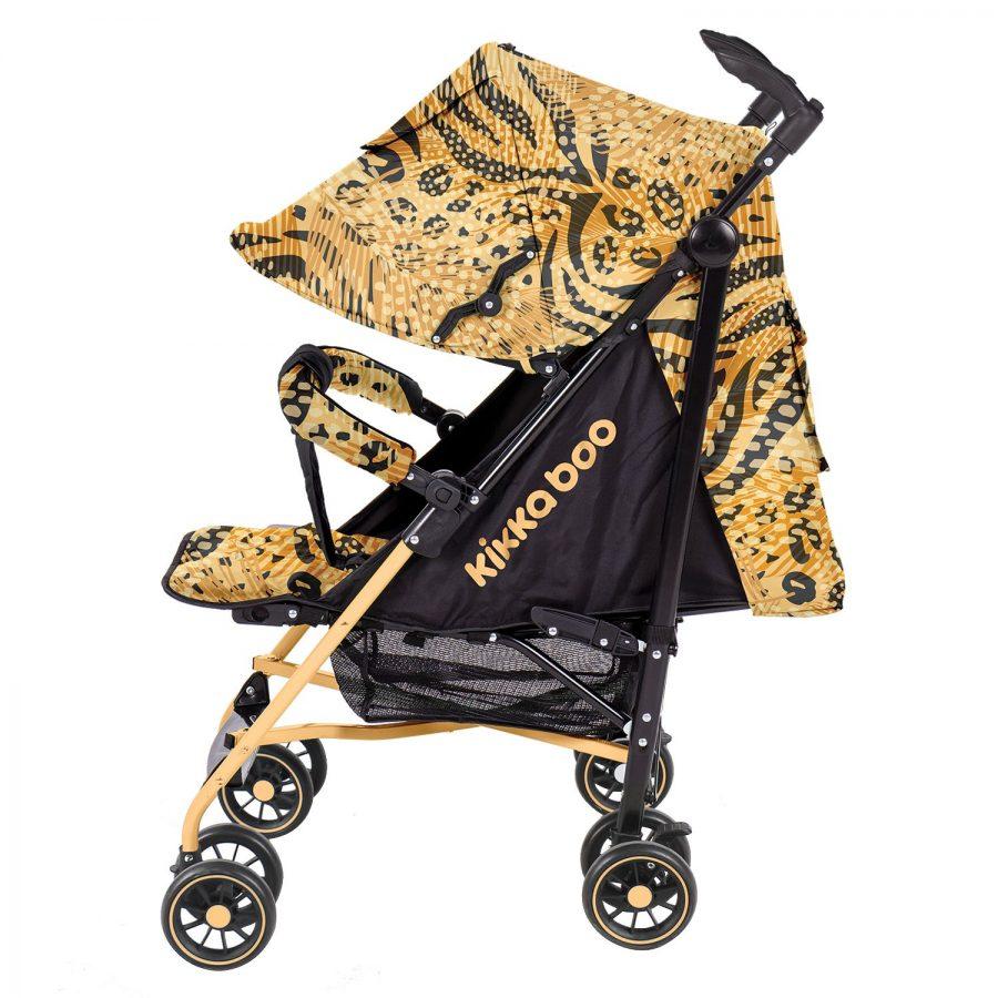 Бебешка лятна количка Kikka Boo Guarana Yellow 2020