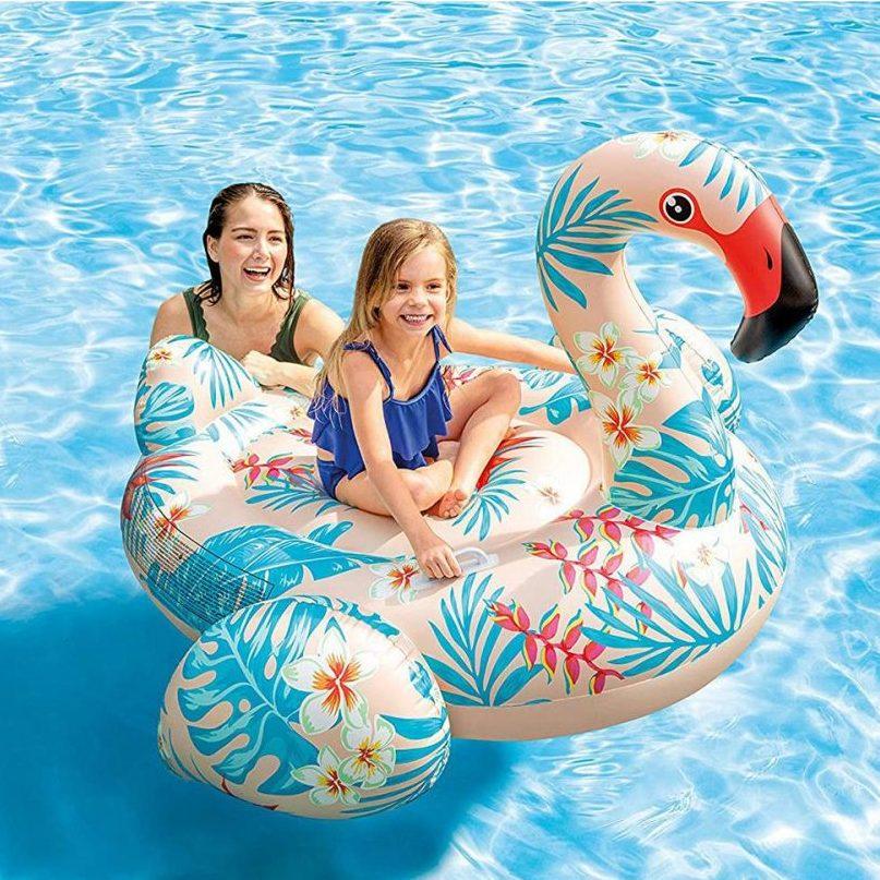 Надуваема играчка Тропическо фламинго INTEX Tropical Flamingo Ride-On
