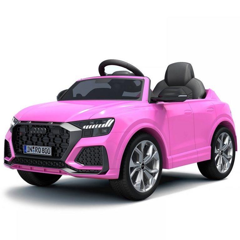 Chipolino Aкумулаторна кола Audi RS Q8, Розова