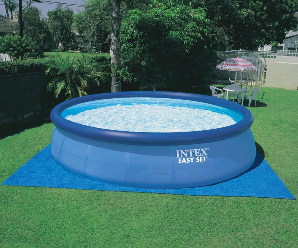 Надуваем басейн INTEX Easy Set, 457 х 122 см. с филтърна помпа