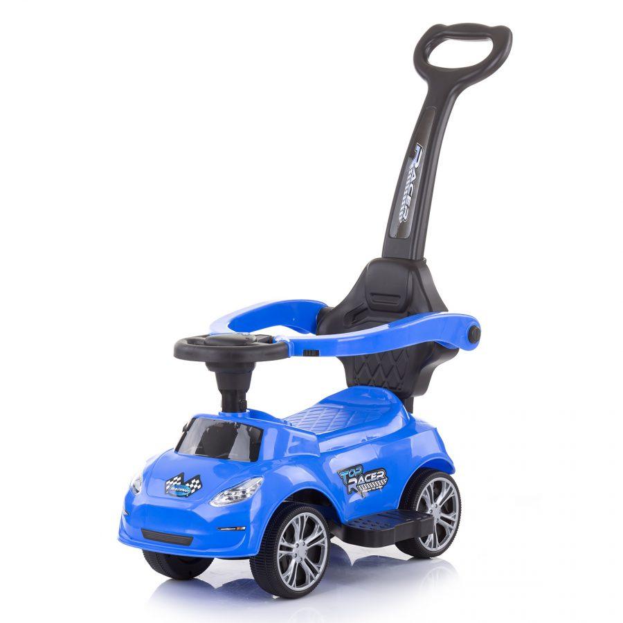 """Chipolino Кола за яздене с дръжка """"Турбо"""", Синя"""